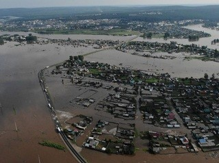 На месте зоны затопления в Тулуне разобьют парк