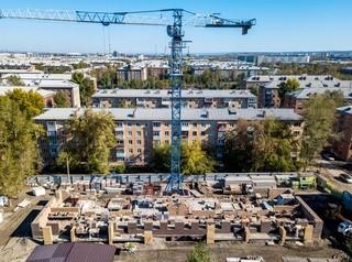 Застройщики 10 новых домов Красноярска делают отчисления в Фонд защиты дольщиков