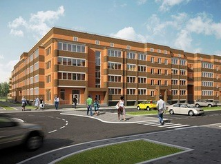 Построен новый дом-квартал в микрорайоне «Северный парк»