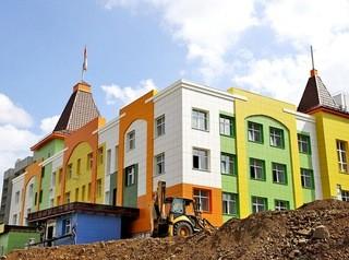 Детский сад в «Кемерово-Сити» готовится к сдаче