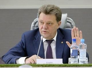 Мэра Томска Ивана Кляйна задержали силовики во время совещания