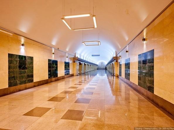 Станция метро «Абай» Алматы