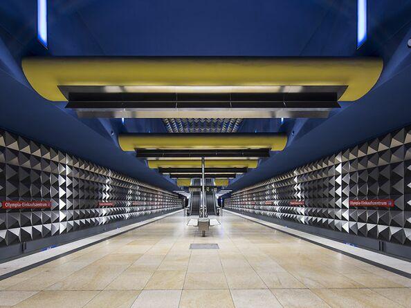 Станция метро Olympia-Einkaufszentrum (Мюнхен)