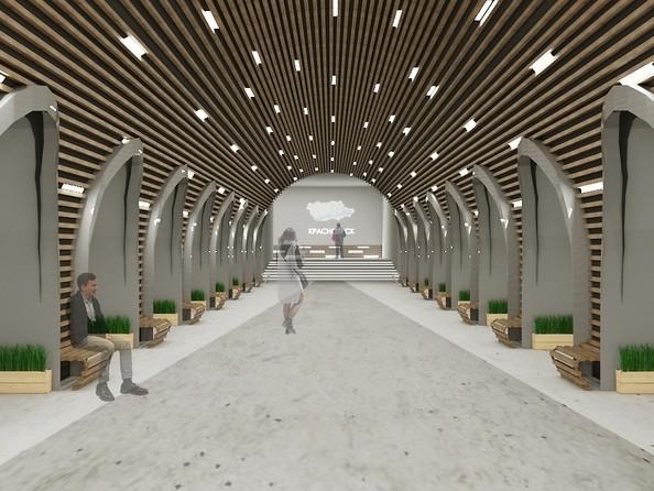 Новые эскизы красноярского метрополитена (2020)