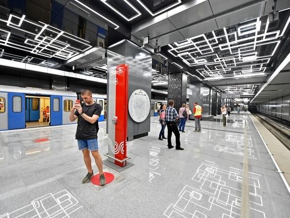 Станция метро «Говорово» (2018) Москва