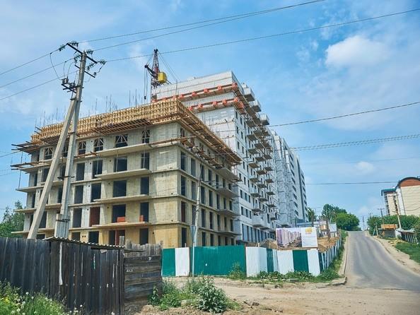 Фото Жилой комплекс ОЧАГ, 2 оч, Ход строительства 14 июня 2019