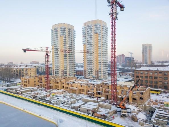 Фото Жилой комплекс ДИНАСТИЯ , 1 этап, Ход строительства 5 декабря 2017