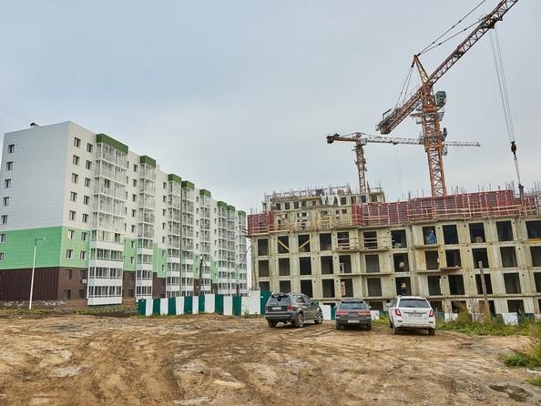 Фото Жилой комплекс РЕКОРД, 3 этап, Ход строительства 19 сентября 2018