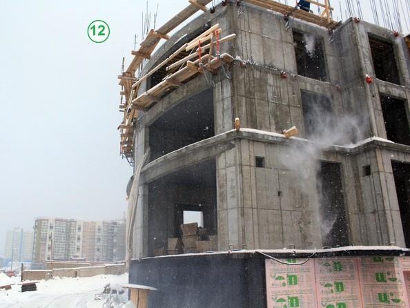 Фото Жилой комплекс СИМВОЛ, 3 очередь, б/с 12,13, Ход строительства 6 декабря 2017