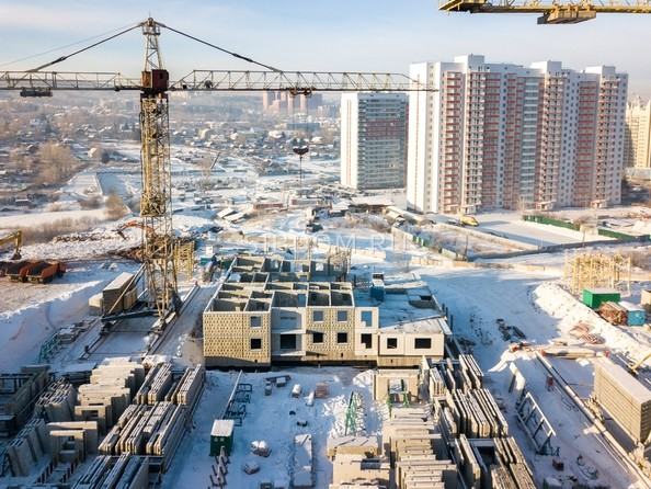 Фото Жилой комплекс КУРЧАТОВА, дом 8, стр 2, Ход строительства 11 декабря 2018