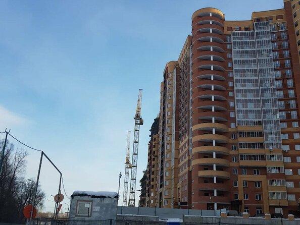 Фото Жилой комплекс РАДУЖНЫЙ КАСКАД, б/с 18, Фото строительства март 2019 б/с 18