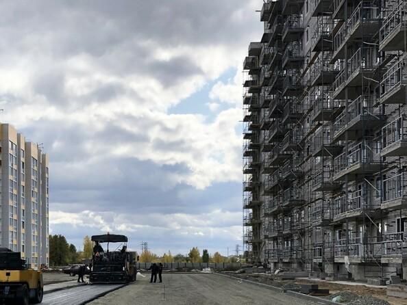 Фото ВРЕМЕНА ГОДА, дом 112, Ход строительства сентябрь 2019