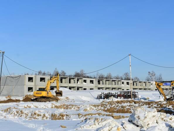 Фото Жилой комплекс РОДНИКИ, дом 603, Фото февраль 2019