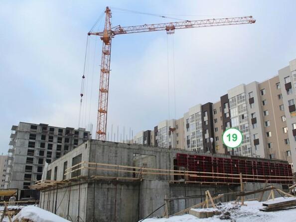 Фото Жилой комплекс СИМВОЛ, б/с 18, Ход строительства январь 2019