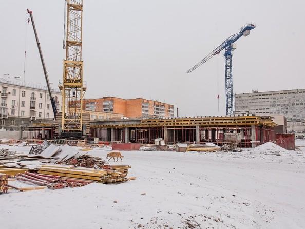 Ход строительства 20 декабря 2019