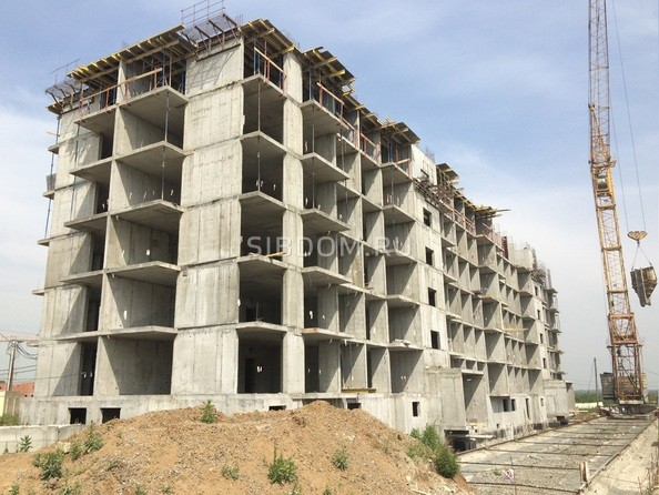 Ход строительства июль 2020