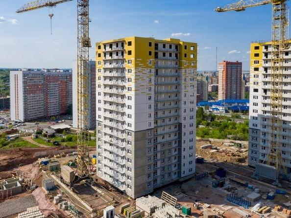 Фото Жилой комплекс КУРЧАТОВА, дом 8, стр 2, Ход строительства 9 июня 2019