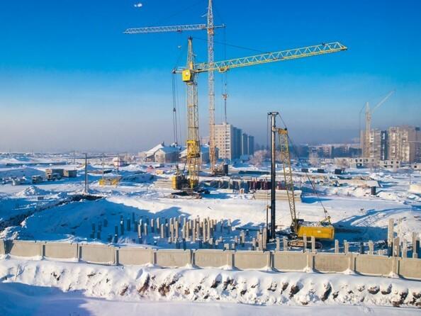 Фото Жилой комплекс КВАРТАЛ ДРУЖБЫ, дом 2, Ход строительства январь 2019