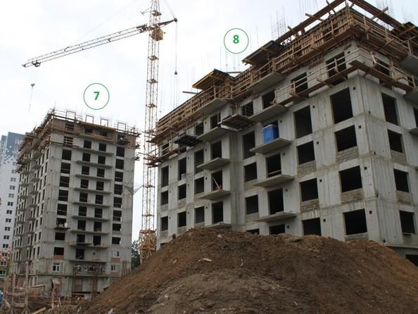 Фото АТМОСФЕРА, б/с 7, Ход строительства 6 августа 2019
