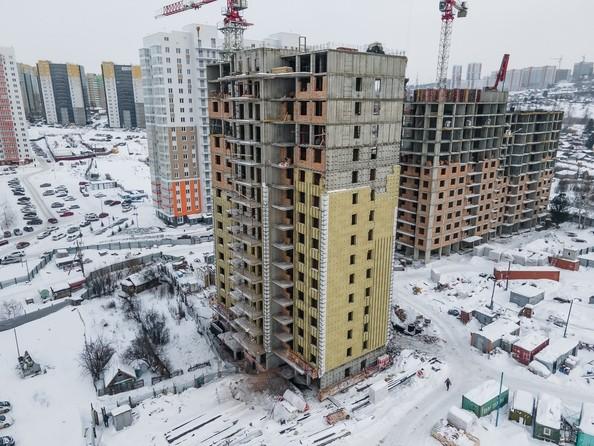 Ход строительства 27 февраля 2021