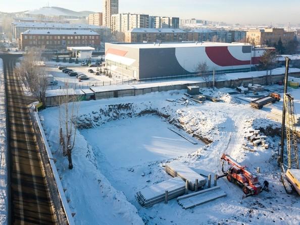 Фото Жилой комплекс НА ВЫСОТЕ, 2 этап, Ход строительства 11 декабря 2018