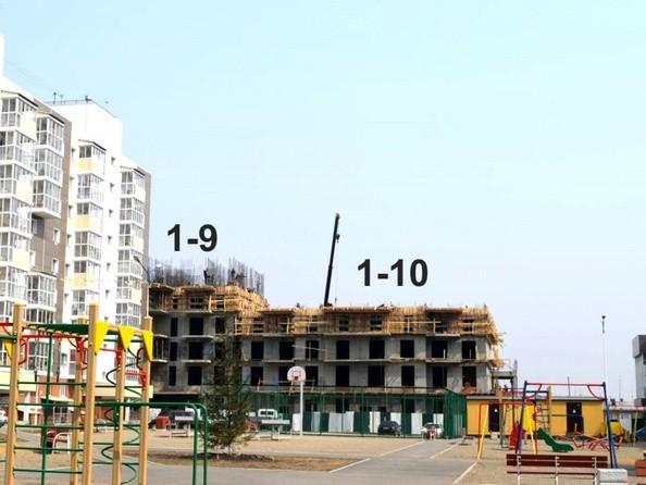 Фото Жилой комплекс ЭВОЛЮЦИЯ, 1 оч, 1-9, 1-10 б/с , Ход строительства Май 2017