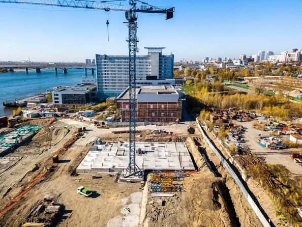 Фото Жилой комплекс ГРАНИТ, Ход строительства 8 октября 2018