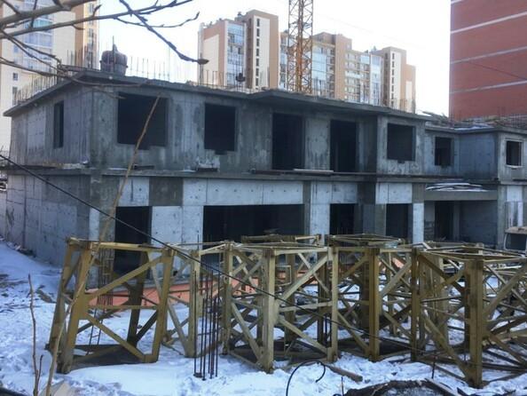 Фото Жилой комплекс РОДНОЙ БЕРЕГ, 7 б/с, Ход строительства февраль 2019
