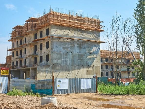 Фото Жилой комплекс ПРЕДМЕСТЬЕ, б/с 1-4, Ход строительства 2 августа 2018