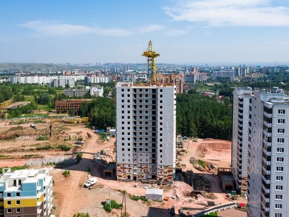 Фото Жилой комплекс ЛЕСНОЙ МАССИВ, дом 1, стр 8, Ход строительства 5 августа 2019