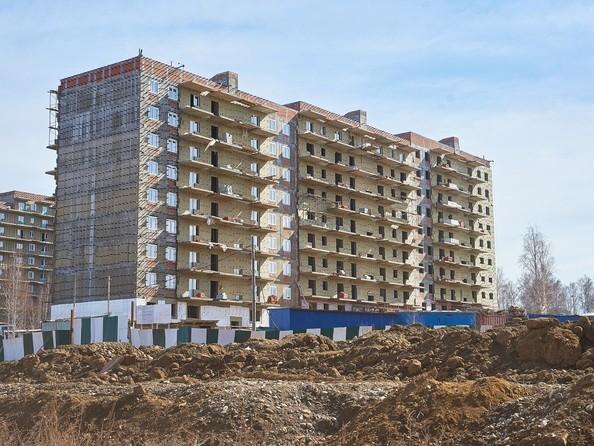 Фото Жилой комплекс ЭВОЛЮЦИЯ, 2 оч, б/с 4-8,9,10, Ход строительства 22 апреля 2019