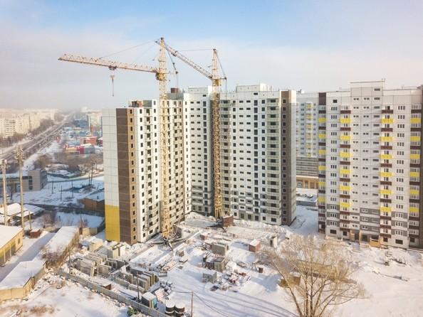 Фото Жилой комплекс Иннокентьевский, 3 мкр, дом 6, Ход строительства 8 февраля 2019