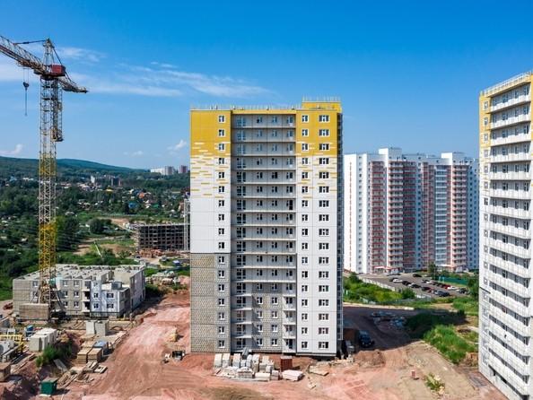 Фото Жилой комплекс КУРЧАТОВА, дом 8, стр 2, Ход строительства 5 августа 2019