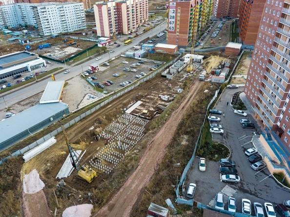 Фото Жилой комплекс СНЕГИРИ, дом 7, Ход строительства 21 октября 2018