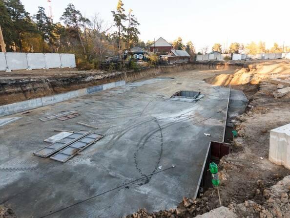 Фото Жилой комплекс ПАРКОВЫЙ, Б/С 1,2, Ход строительства 30 октября 2018