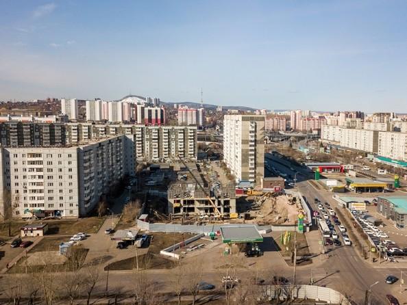 Фото Жилой комплекс FUSION (Фьюжн), Ход строительства 7 апреля 2019