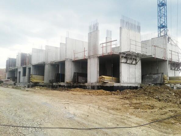Фото Жилой комплекс СИБИРСКИЕ ПРОСТОРЫ, дом 1, корпус 4, Ход строительства июль 2019