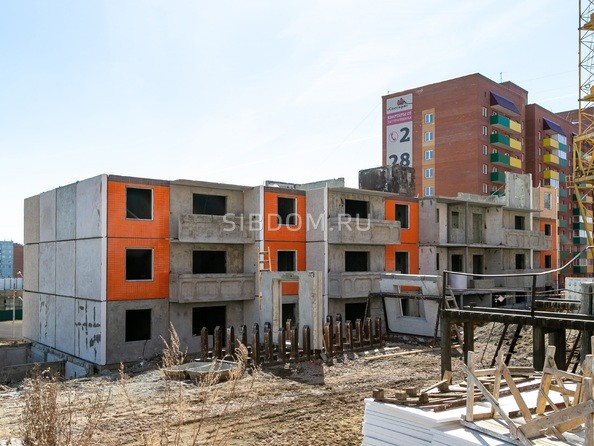 Фото Жилой комплекс СНЕГИРИ, дом 7, Ход строительства 14 апреля 2019