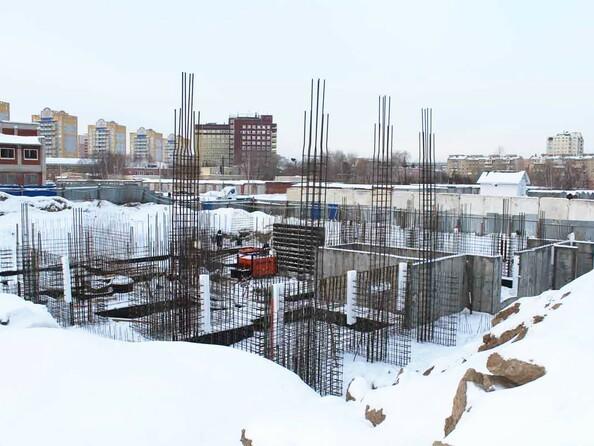 Фото Жилой комплекс КУЗЬМИНКИ, дом 3, Ход строительства январь 2019