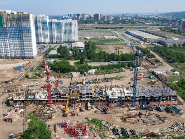 Фото Жилой комплекс ТИХИЕ ЗОРИ, дом 4 (Красстрой), Ход строительства 5 августа 2019