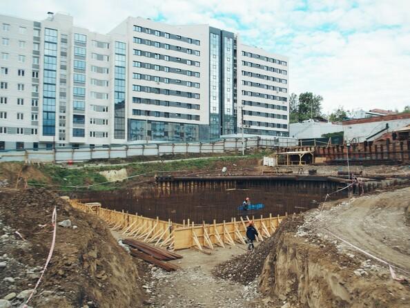 Ход строительства 3 июня 2020