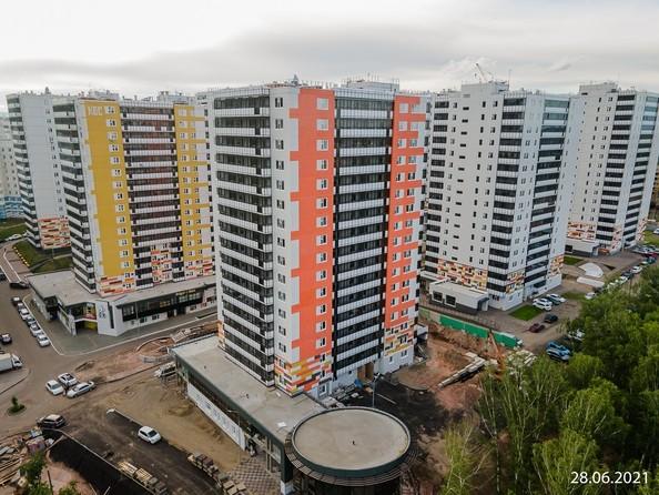 Ход строительства от 28 июня 2021