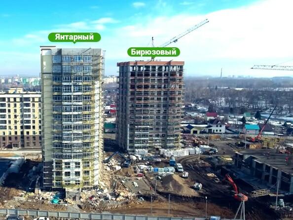 Фото Жилой комплекс ЮЖНЫЙ, дом «Бирюзовый», Ход строительства март 2019