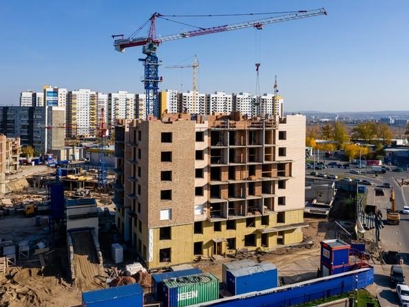 Ход строительства 8 октября 2019