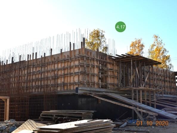 Ход строительства 1 октября 2020