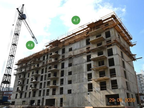 Ход строительства 29 июня 2020