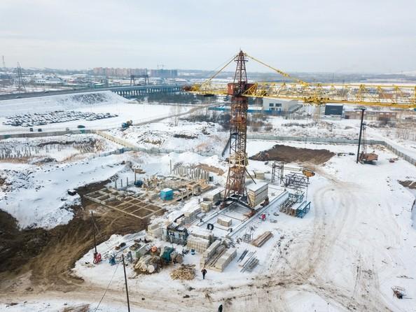 Фото Жилой комплекс Светлогорский пер, 1 дом, 1 стр, Ход строительства 20 февраля 2019