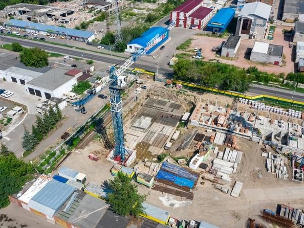 Фото Жилой комплекс НА ВЫСОТЕ, 2 этап, Ход строительства 5 августа 2019
