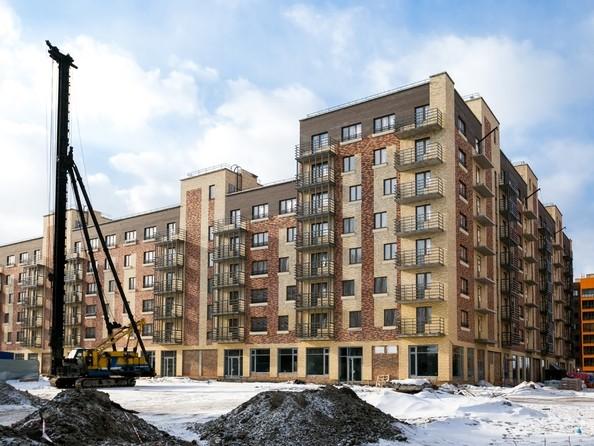 Фото Жилой комплекс ЮЖНЫЙ БЕРЕГ, 3 оч, дом 15, Ход строительства 22 февраля 2019