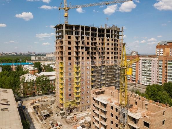 Фото Жилой комплекс Базарная, дом 1, Ход строительства 9 июня 2019